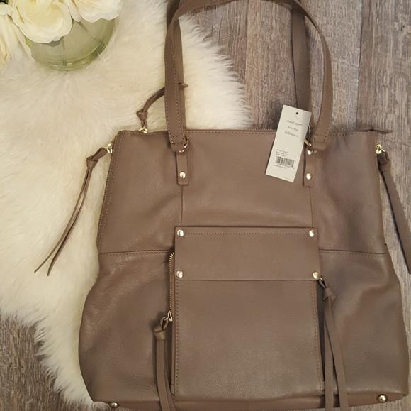846fddbfa Kooba Bags | New Genuine Leather Taupe Tote Nwt | Poshmark